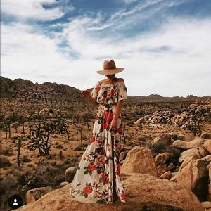 Show me your mumu hacienda last rose dress